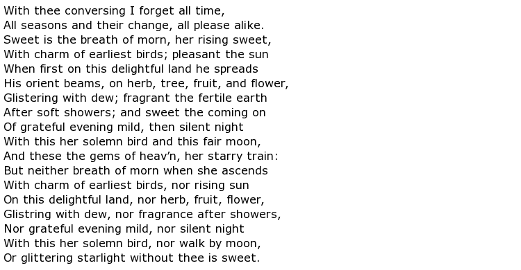 epic poem examples - photo #13
