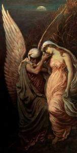 """Cup of Death"" by Elihu Vedder"