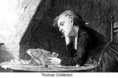Thomas Chatterton forger