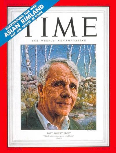the poetic techniques used by robert frost in his poem mending wall I knew a guy who attended a frost reading by the poet himself, and frost said  something to the effect that one of the purposes of his poetry is.