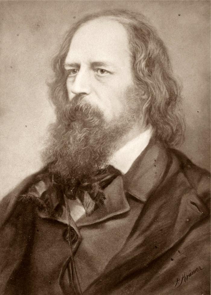 a literary analysis of the lyric poem tears idle tears by alfred lord tennyson Identity and responsibility in the poetry of alfred lord tennyson,  carried few literary associations for tennyson's first  (tears, idle tears.