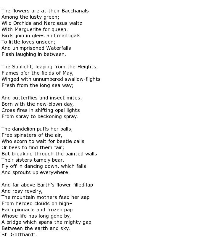 tarantella poem meaning