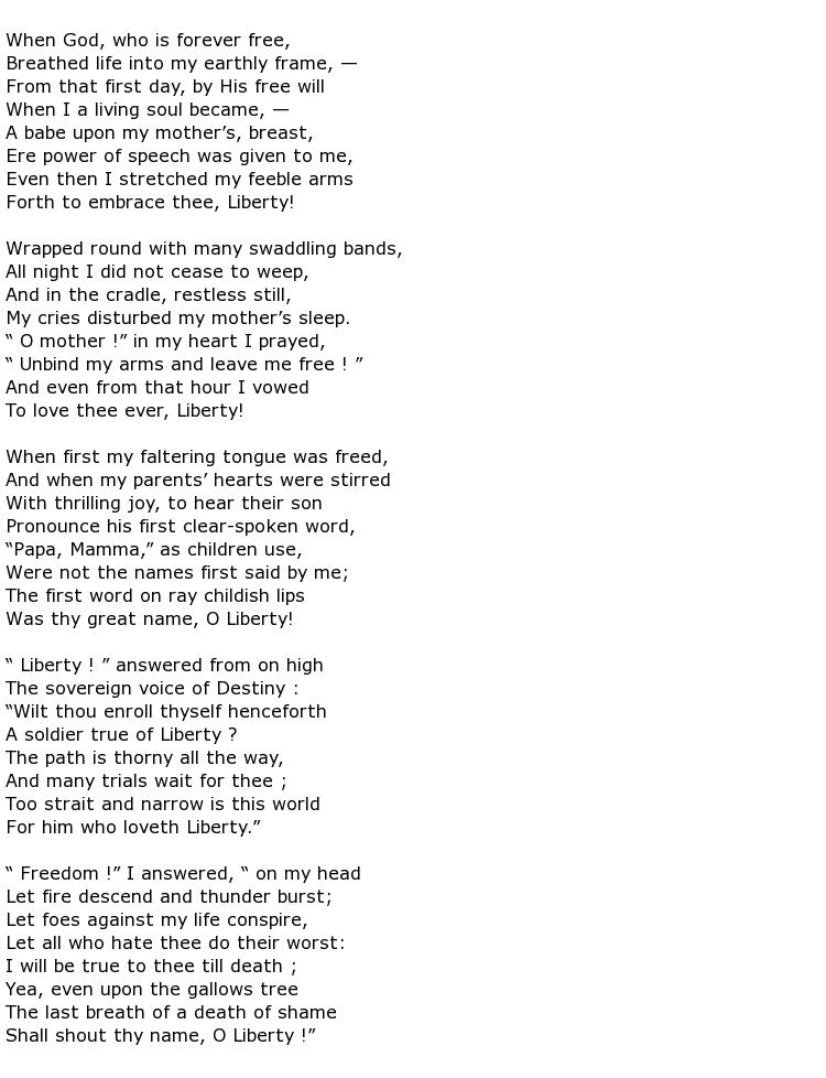 Mikael Nalbandian Poems My Poetic Side