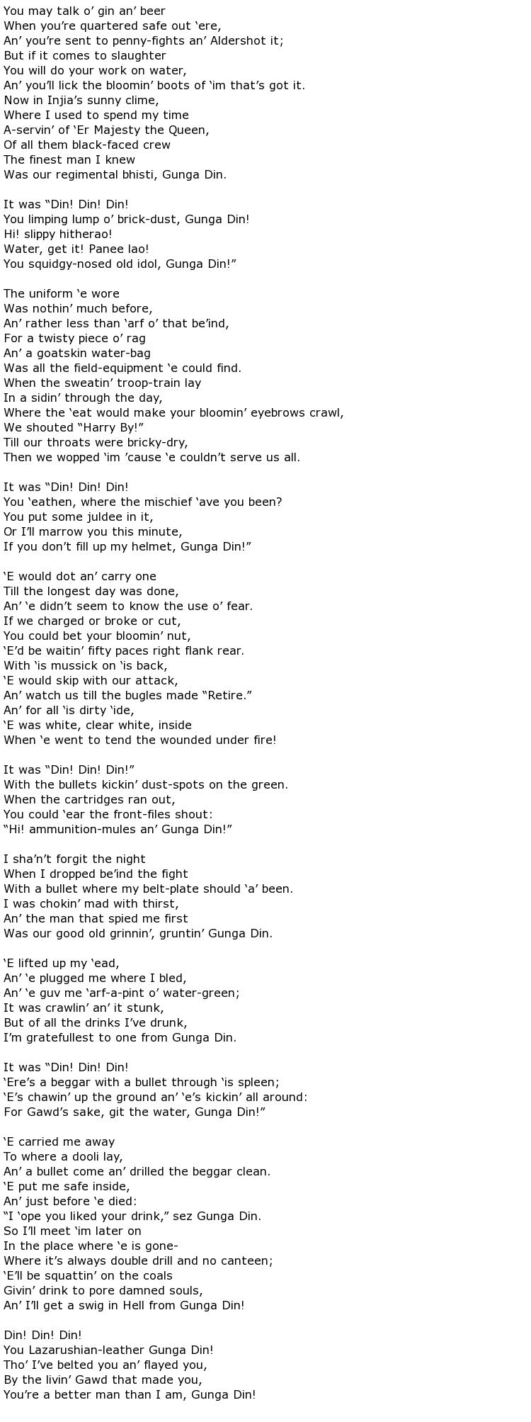Rudyard Kipling Poems My Poetic Side
