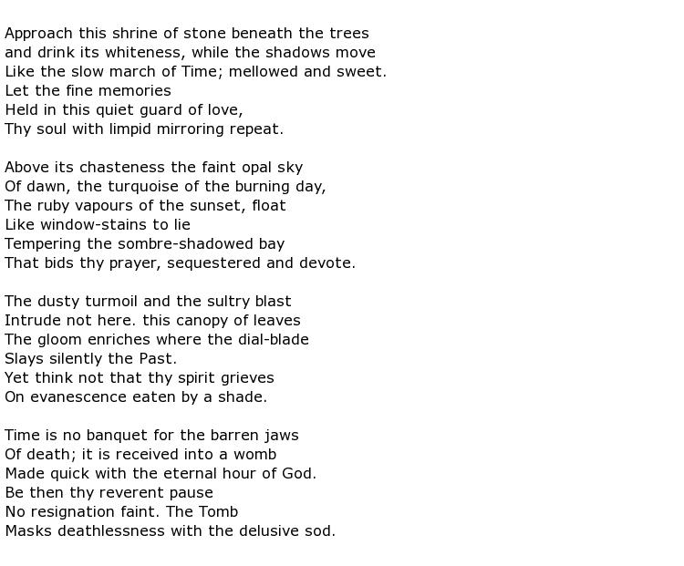 Leslie Holdsworth Allen Poems > My poetic side