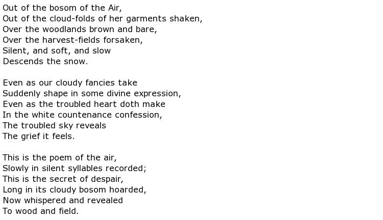 William cullen bryant poems