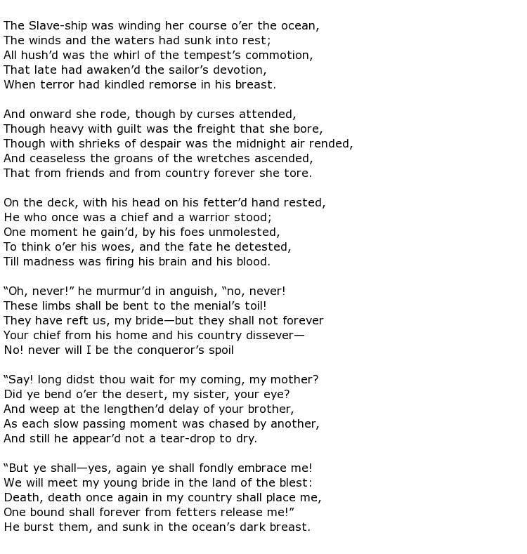 Elizabeth Margaret Chandler Poems > My poetic side