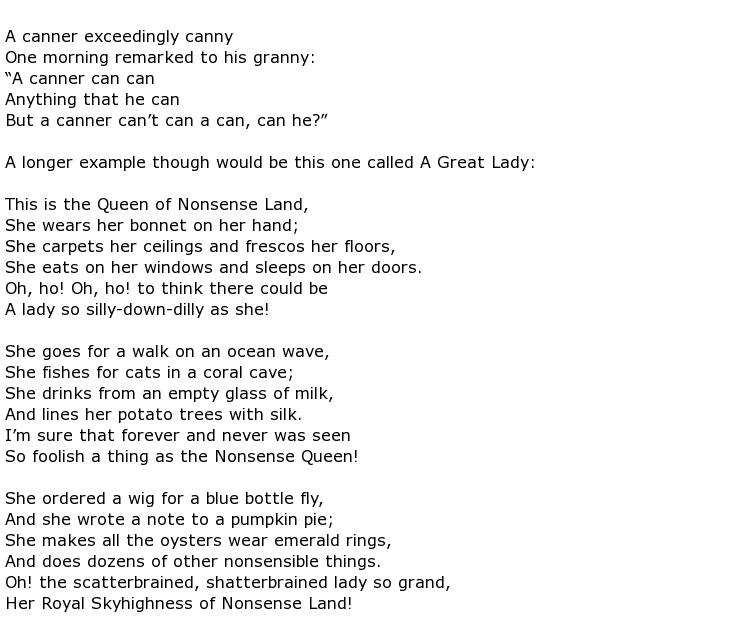 Carolyn Wells Poems My Poetic Side