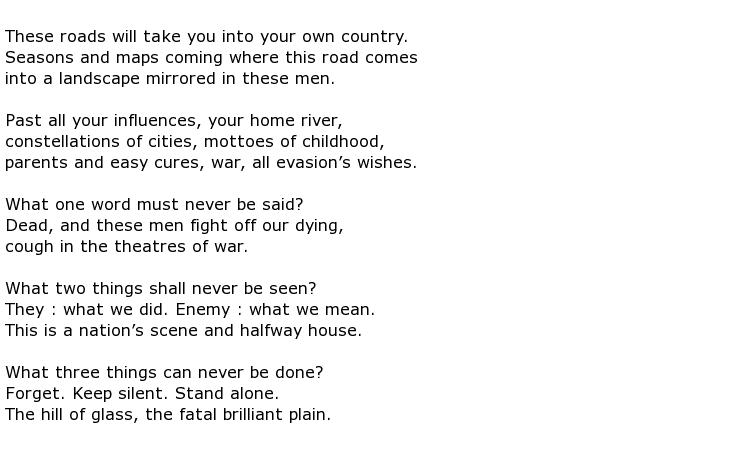 Muriel Rukeyser Poems > My poetic side