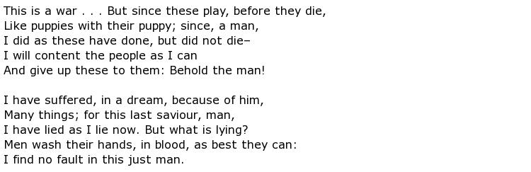 Randall Jarrell Poems > My poetic side