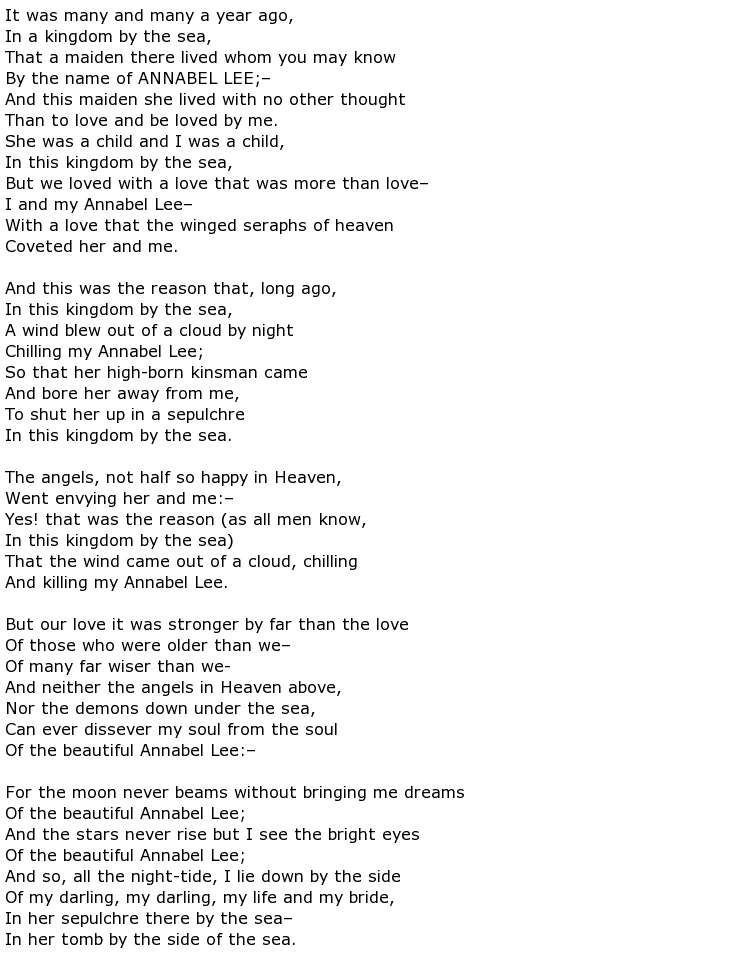 Death Poems My Poetic Side