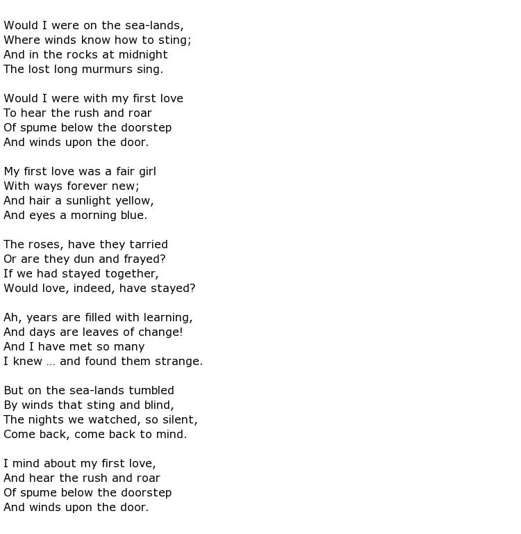 Lyric lyric poem examples : Orrick Johns Poems > My poetic side