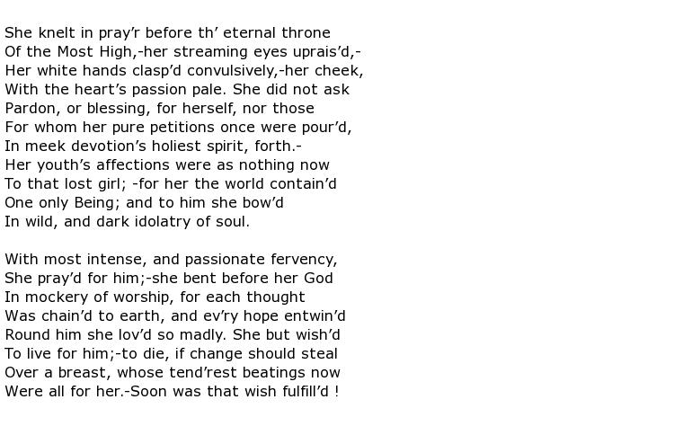Eliza Acton Poems > My poetic side
