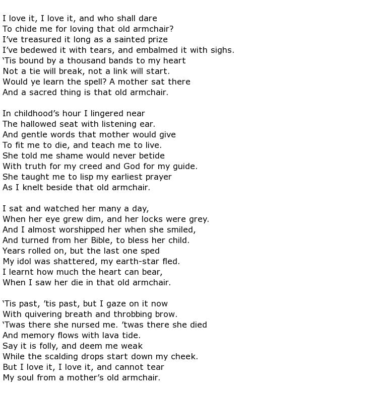 Eliza Cook Poems > My poetic side